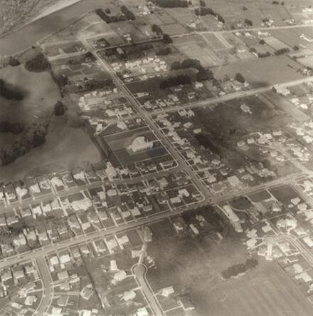 Aerial view of Awapuni area