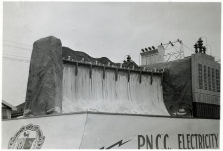 PNCC Electricity Department Float - 1952 Jubilee Celebrations