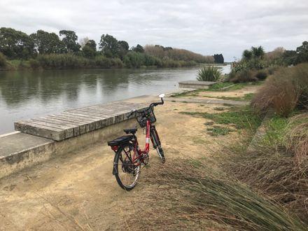 Bike at Okatia Steps