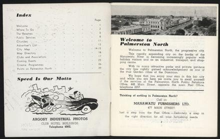 Palmerston North Diary: December 1957 - 2