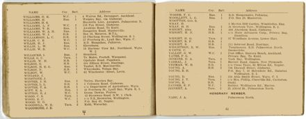 Wellington Infantry Regiment 1914-1918 booklet - 33