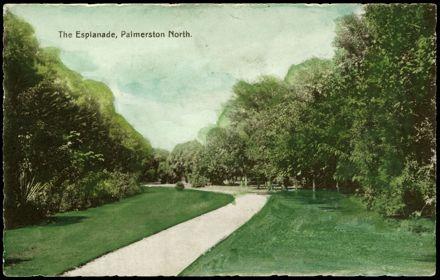 Hand-tinted Esplanade Postcard 1