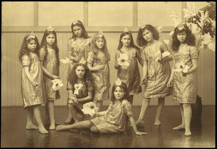 Craven School Pupils in Costume