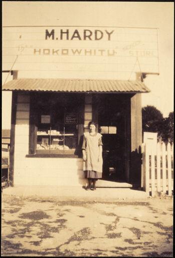 Merle Hardy, 'The Hokowhitu School Store'