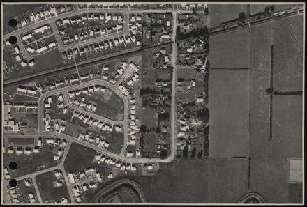 Aerial map, 1966 - K9
