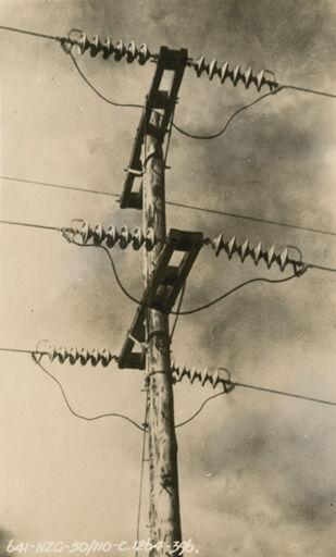 Transmission Line - Mangahao Electric Power Scheme
