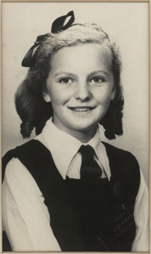 Patricia June Gibbs - Head Prefect, 1948