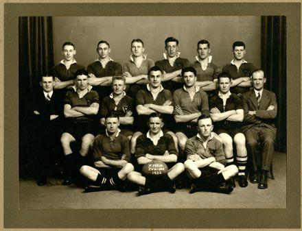 Palmerston North YMCA Junior Rugby Team, 1932