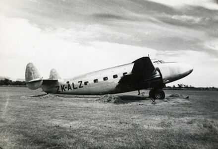 NAC aeroplane at Milson Airport
