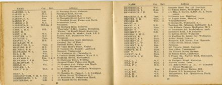 Wellington Infantry Regiment 1914-1918 booklet - 16