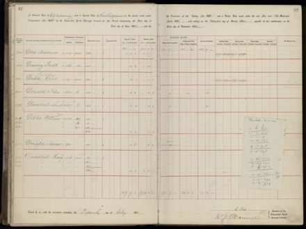 Palmerston North Rate Book, 1893 - 1896, 35