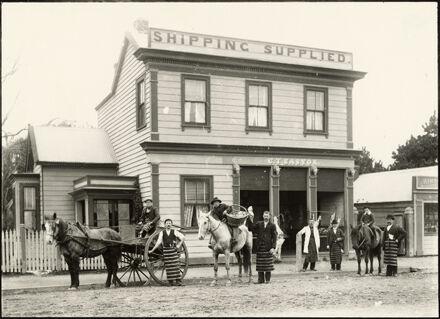 C.T. Easton's butchery, Foxton