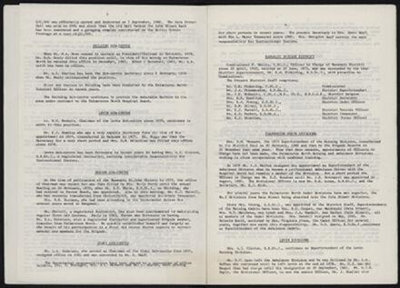Supplement to History of the St John Ambulance Association Manawatu, 1900-1975 4
