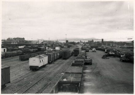Palmerston North Railway Yard, Main Street