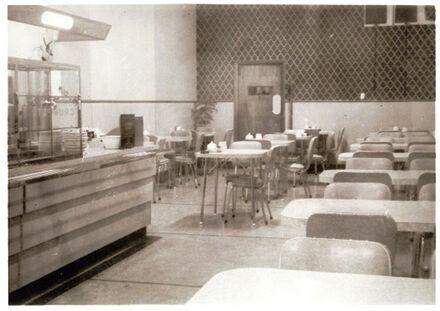 Casino Cafeteria interior, 23 Rangitikei Street