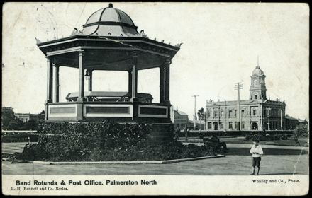 Band Rotunda and Post Office 1