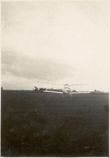 ZK-ABZ Airplane in Palmerston North, c1922-1923
