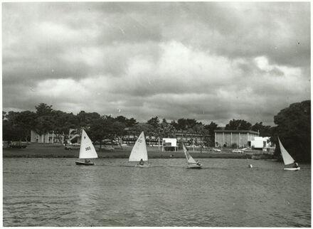 """P"" Class Yachts on Hokowhitu Lagoon"