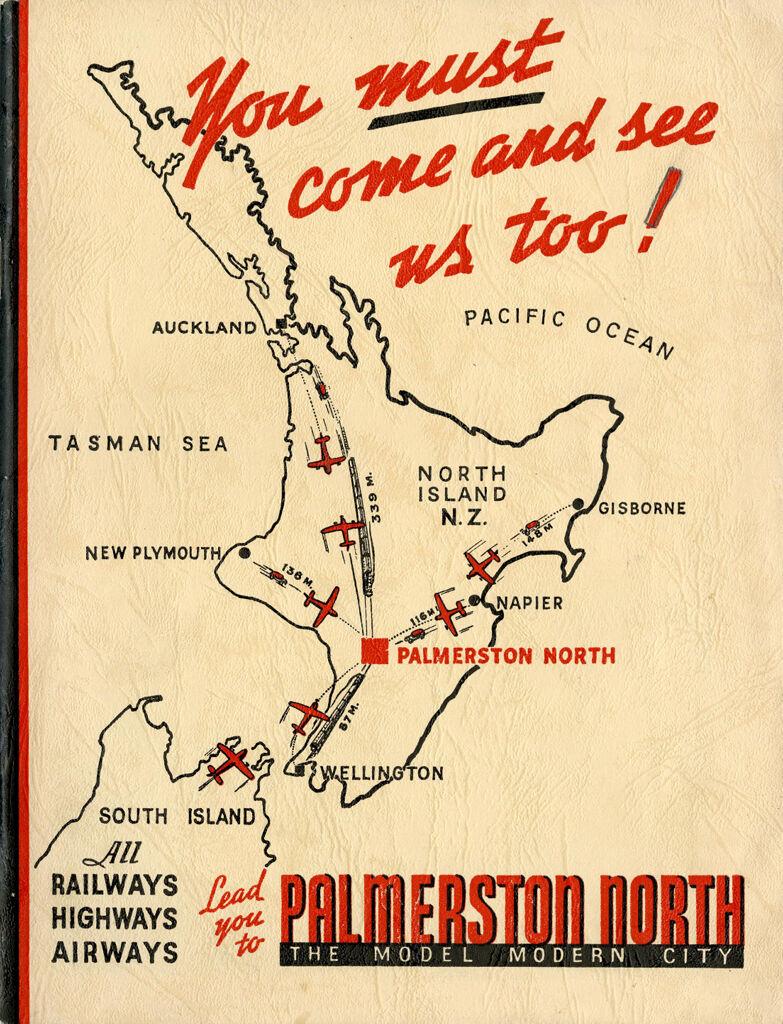 """Palmerston North: A Model Modern City' promotion publication 1"