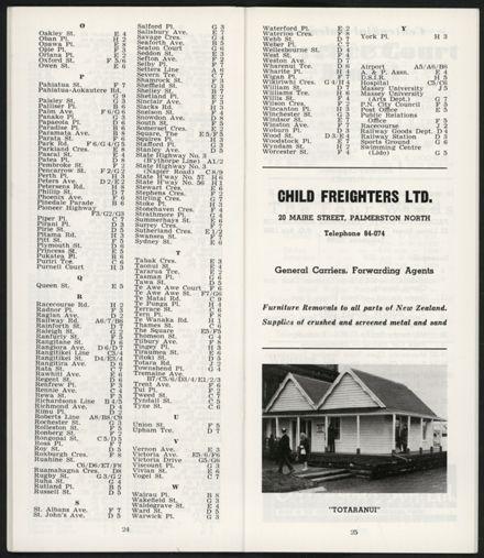 PRO Visitors Guide: Circa 1970's - 16