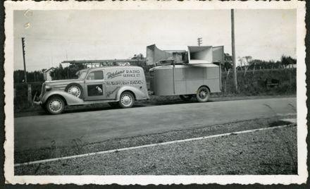 Borham's Radio Service Ltd van