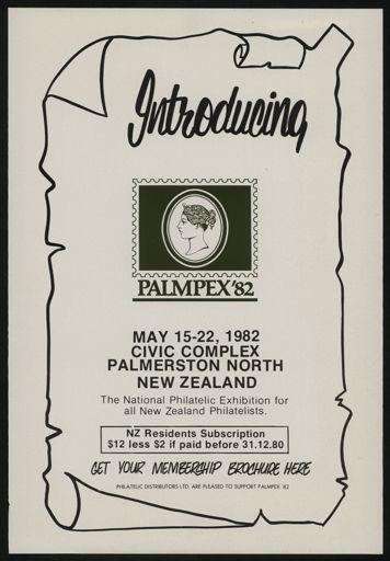 Philitelic exhibition poster