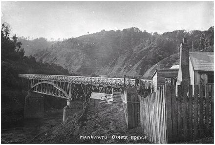 Upper Manawatu Gorge bridge, near Woodville