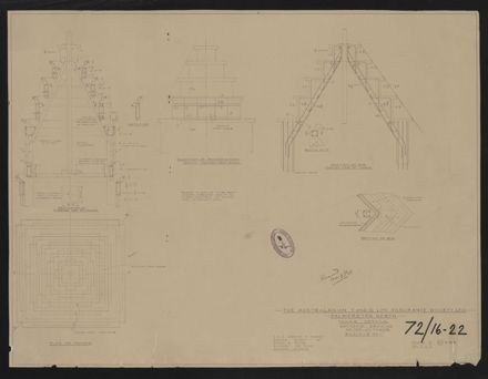 Architectural Plans, T&G Building 17