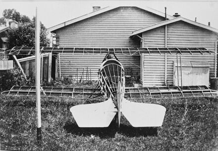 Construction of home built aeroplane