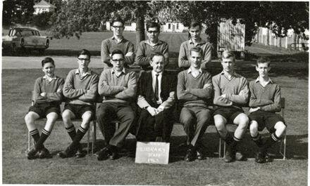 Palmerston North Boys High School Library Staff