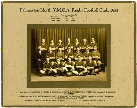 Palmerston North YMCA Rugby Football Club, 1931