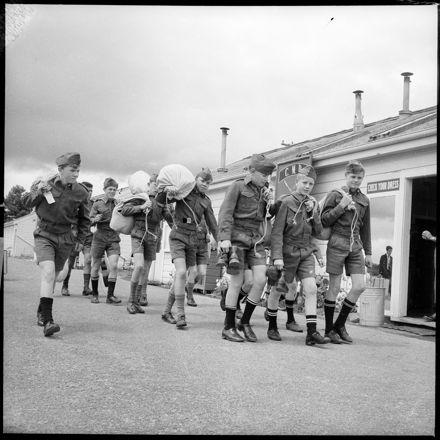 """Army Cadets' Camp at Linton"""