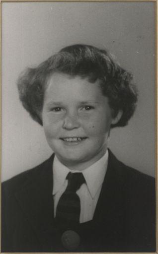 Heather McKenzie - Head Prefect, 1957