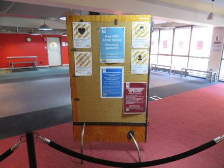 City Library - Message Board