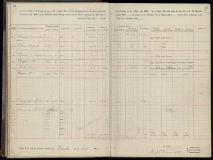 Palmerston North Rate Book, 1893 - 1896, 38