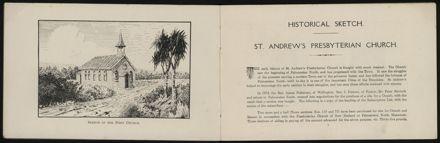 St Andrew's Church Jubilee Souvenir, 1879-1929 3