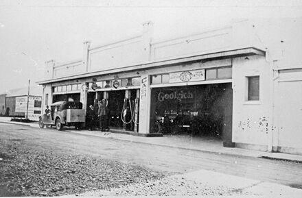 Collinson's Service Station, Regent Arcade