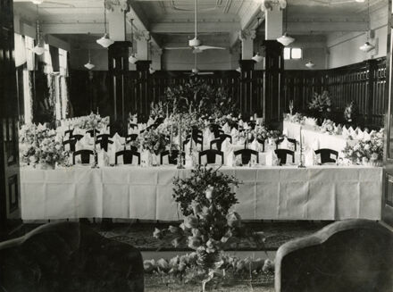 C M Ross Co. Ltd tearooms on the occassion of the Royal Civic dinner