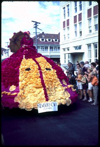 Newbury Country Women's Institute Float - 1971 Centennial Parade