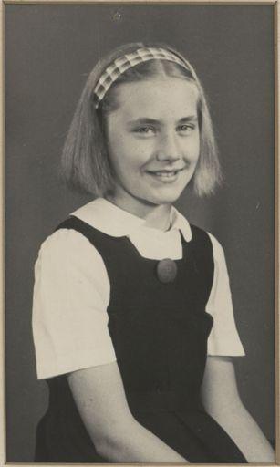Barbara Mattson - Terrace End School Runner-up Dux, 1948