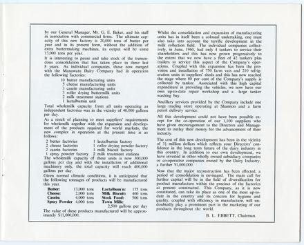 Manawatū Co-Operative Diary Company Limited, Longburn