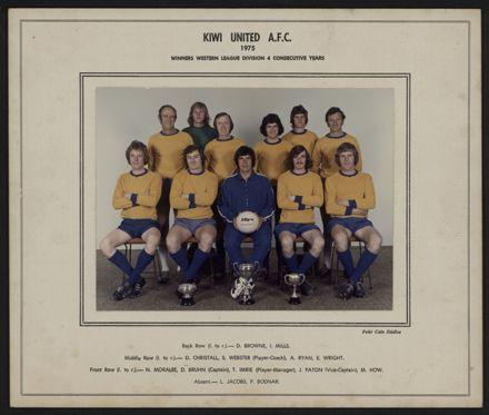 Kiwi United A.F.C. 1975