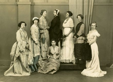 Members of the Manawatu County Club in period costume