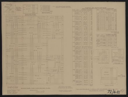 Architectural Plans, T&G Building 13