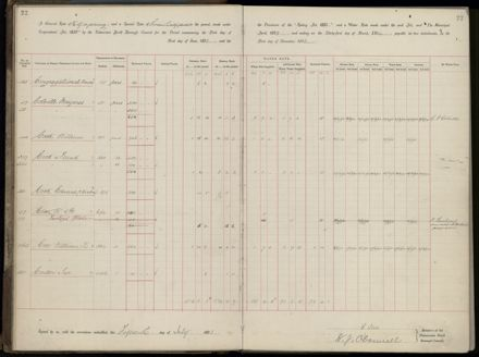 Palmerston North Rate Book, 1893 - 1896, 25