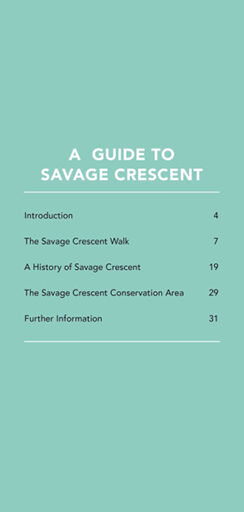 Savage Crescent walk p3