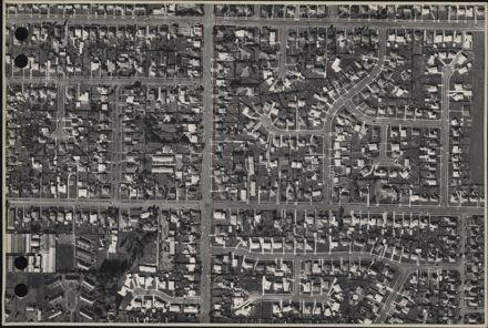 Aerial map, 1966 - J12