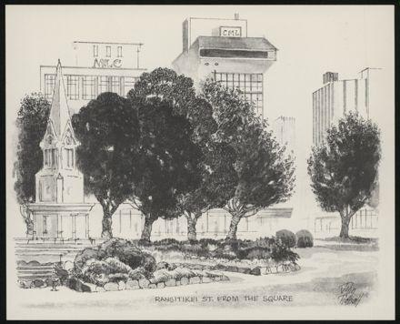 Palmerston North: A Portfolio of Six Sketches 5