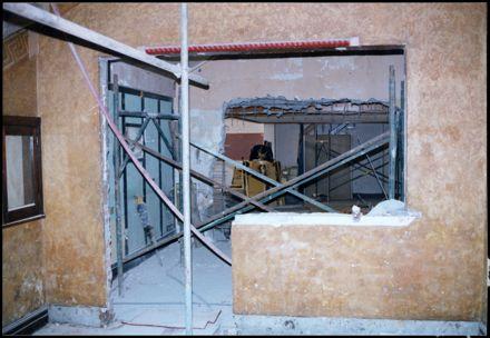 Regent Theatre under construction