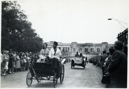 Procession of Cars - 1952 Jubilee Celebrations